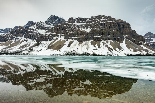 BOW LAKE #1 - BANFF NATIONAL PARK, CANADA