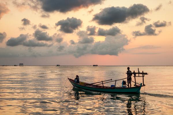 Dawn,  Prek Svay, Koh Rong, Cambodia 4
